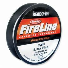 Fireline Beading Thread Crystal 4lb - 50 Yards
